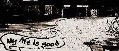 ロンスケとオールドスクールスケートボード-My life is good(エフダブスケートボードショップのスタッフブログ)