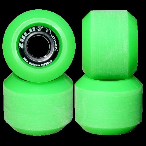 スケートボード各パーツ情報 お勧めウィール(Wheel) ズールーウィール ヌメリ 78A 65mm
