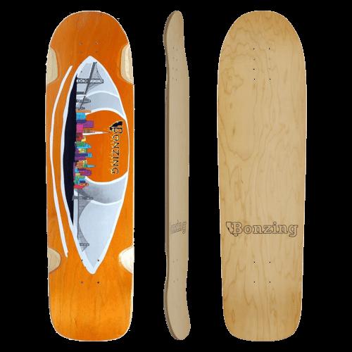 スケートボード各パーツ情報 デッキ(Deck)ボンジング サーフスケート SK8パーク フリーライド