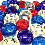 スケートボード各パーツ情報 ウィール(Wheel) ボーンズのハードウィール クリアーSPFシリーズ