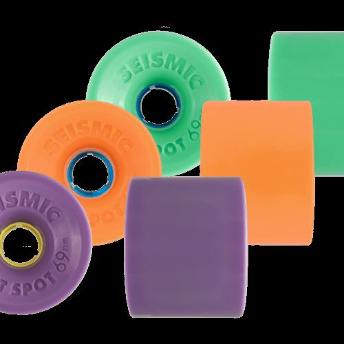 スケートボード各パーツ情報 お勧めウィール(Wheel) サイズミック ホットスポット69mm