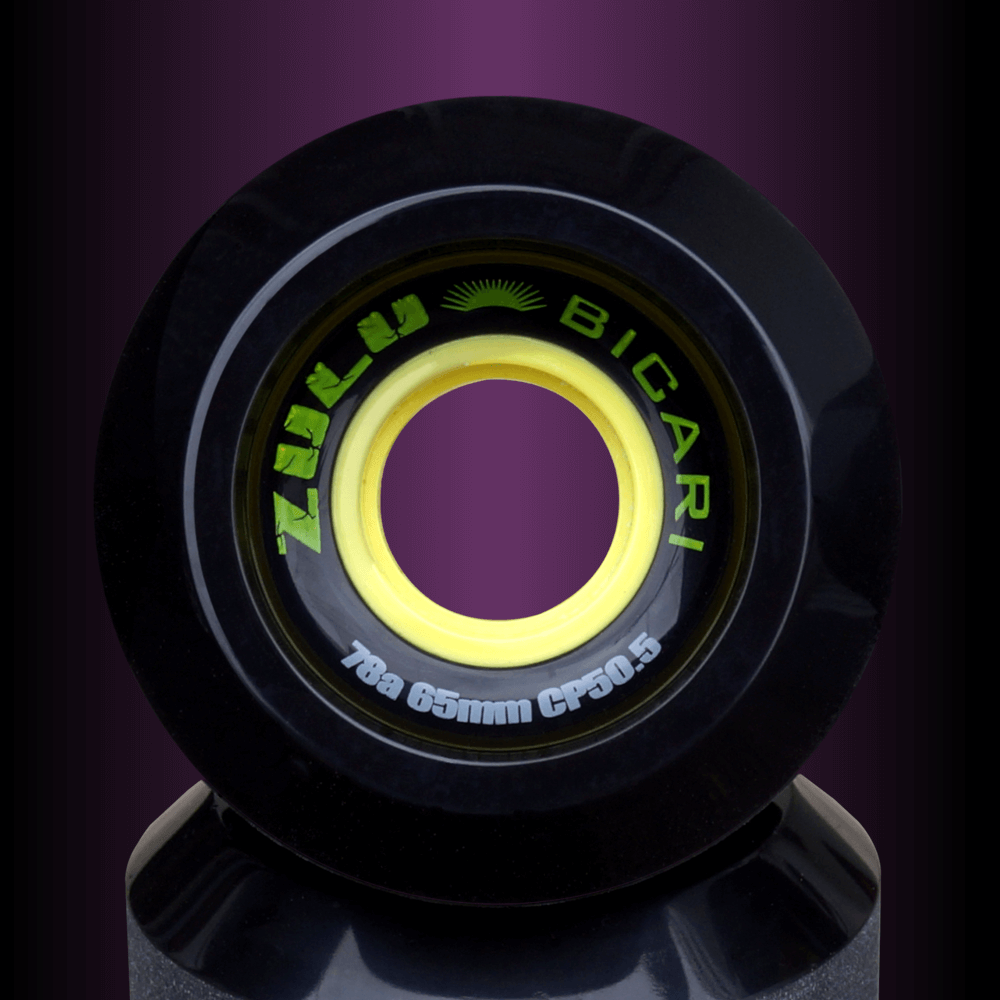エフダブ スケートボードショップのズールーウィール ビカリシリーズ78Aスライド人気のソフトウィール