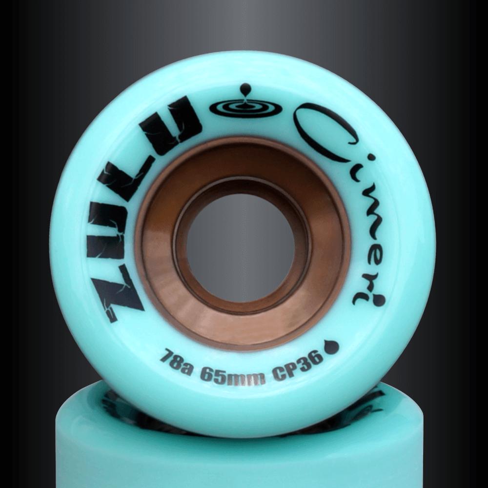スライド専門スケートボードショップ エフダブスケートのズールーウィール シメリシリーズ78A