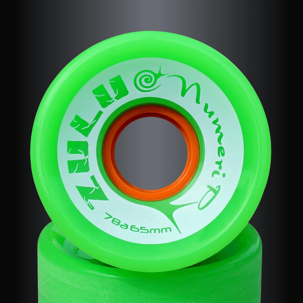 エフダブ スケートボードショップのズールーウィール ヌメリシリーズ78Aスライド人気のソフトウィール