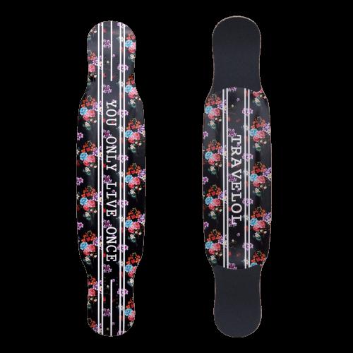 スケートボード各パーツ情報 お勧めデッキDeckトラベロール フリースタイル ロングボード ステップ